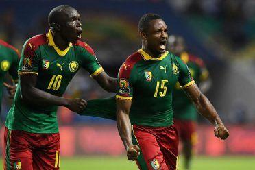 Maglia Camerun Coppa d'Africa 2017