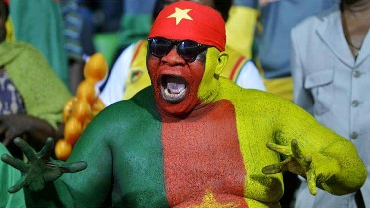 Tifoso Coppa d'Africa