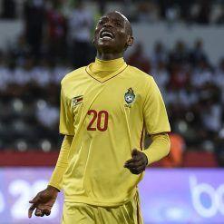 Maglia Zimbabwe provvisoria contro l'Algeria