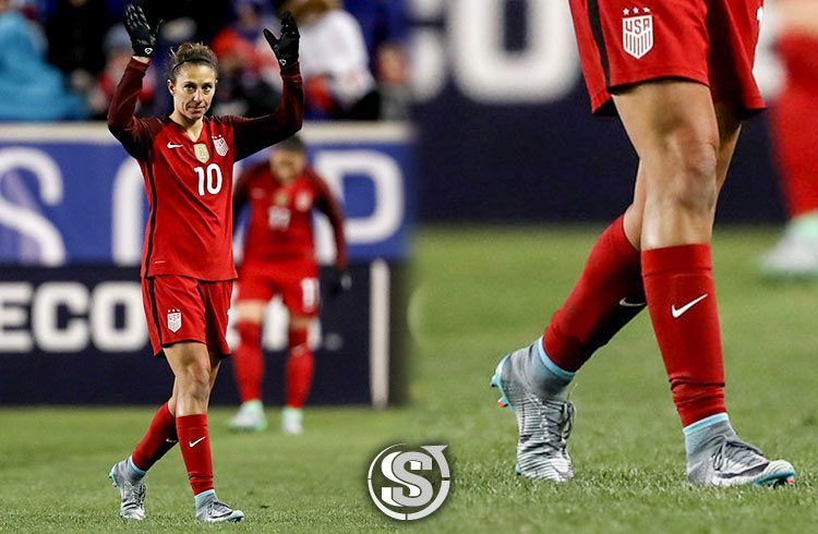 Carli Lloyd (USA) - Nike Mercurial Superfly V