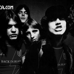 AC/DC rock football kit