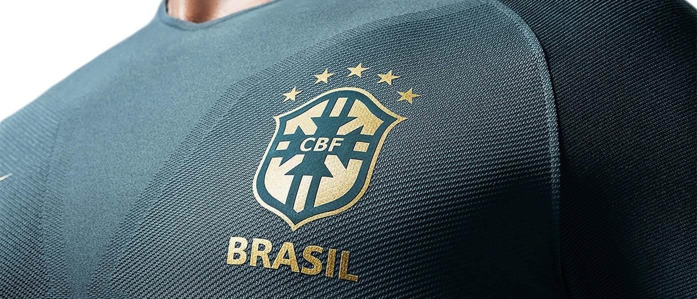 Brasile third kit 2017 Nike