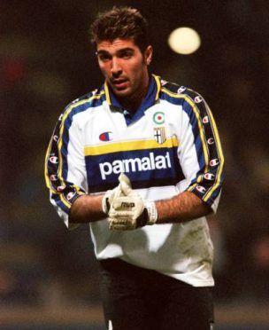 Buffon maglia Parma 1999-2000 bianca