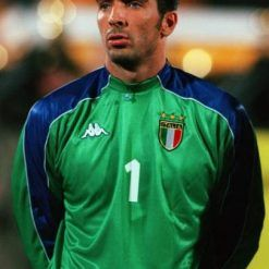 Buffon maglia Italia verde 1999 Kappa