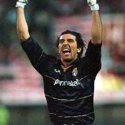 Gigi Buffon maglia Parma 1998-99 Lotto blu