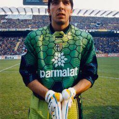 Buffon maglia 1997-98 verde nido d'ape