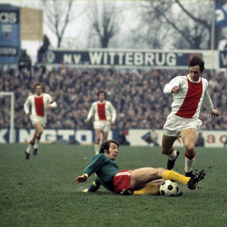 Johan Cruijff, Ajax vs Den Haag, 1971 circa