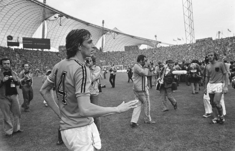 Johan Cruijff, Olanda, Mondiali 1974, Font, Olympiastadion, Monaco di Baviera