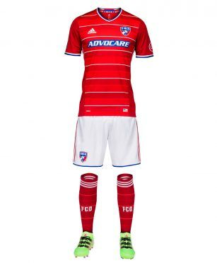 Dallas FC kit home 2017