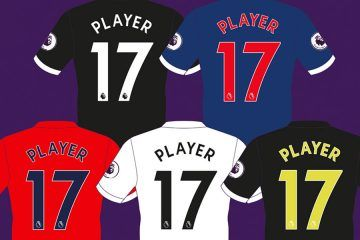 Font Premier League 2017-18
