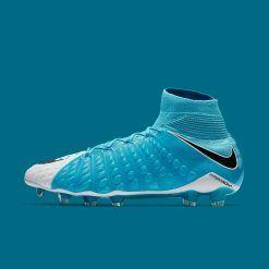 Nike Hypervenom Phantom calzino azzurro