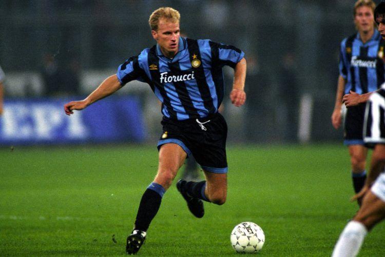 Bergkamp maglia Inter 1994-95
