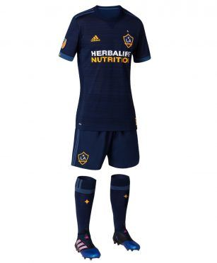 Maglia Los Angeles Galaxy away 2017 MLS