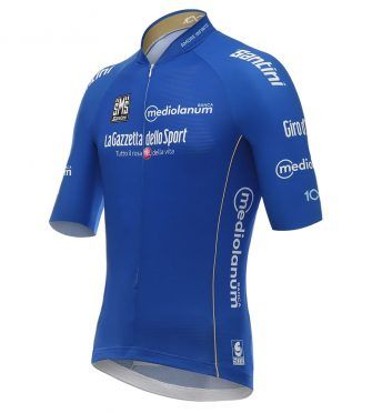 Maglia azzurra Giro d'Italia 2017