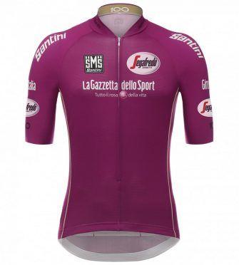 Maglia ciclamino Giro d'Italia 2017