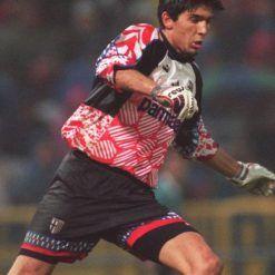 Gianluigi Buffon nel 1995-1996 ai tempi del Parma