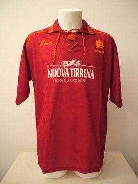 Maglia Roma 1994-1995 Asics - Moriero