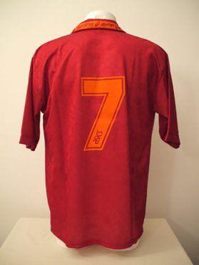 Maglia Roma 1994-1995 Asics - Numero 7