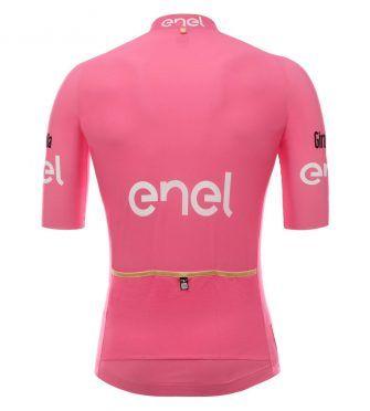 Il retro della maglia rosa del Giro 2017, edizione 100