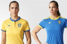 Maglie Svezia femminile Euro 2017