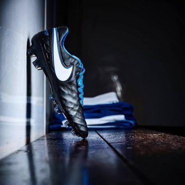 Nike Tiempo Derby blu