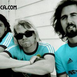 Nirvana maglie rock calcio