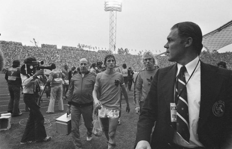 Olanda, Mondiali 1974, Johan Cruijff, Rinus Michels