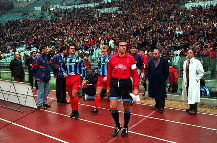 Roma-Inter 1995 a maglie invertite