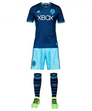 Seattle Sounders third kit 2017 adidas