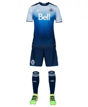 Seconda divisa Vancouver Whitecaps 2017
