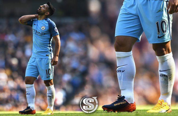 Aguero (Manchester City) - Puma EvoSpeed 17