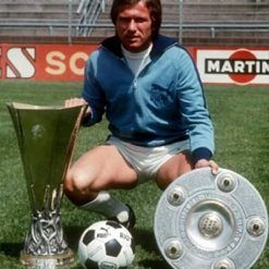 Borussia Monchengladbach anni 70 vittoria Coppa Uefa