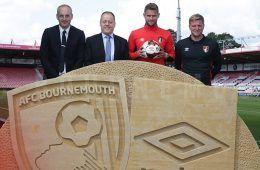Umbro sponsor tecnico Bournemouth