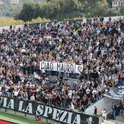 Curva Ferrovia stadio Alberto Picco - Spezia