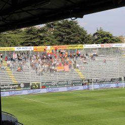 Curva Piscina ospiti stadio Picco