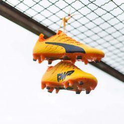 Scarpe Puma evoPower Vigor 1 arancione-giallo