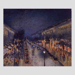 Francia Camille Pissarro Boulevard Montmartre