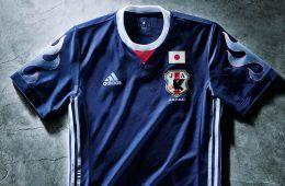 Nuova maglia Giappone 2017 adidas