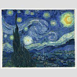 Olanda Van Gogh De Sterrennacht