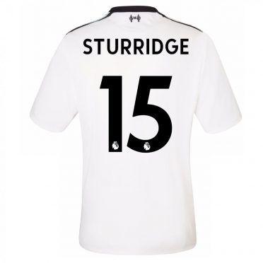 Maglia Liverpool away Sturridge 2017-18