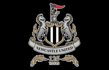 Logo Newcastle United 125 anni