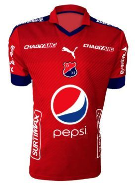 Maglia Independiente Medellin 2017 rossa