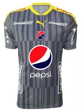 Terza maglia Deportivo Independiente Medellin 2017 grigia
