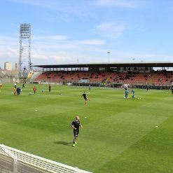 Pre-partita Spezia Benevento