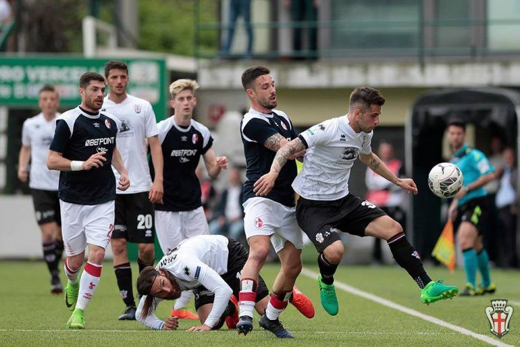 Pro Vercelli-Bari Serie B