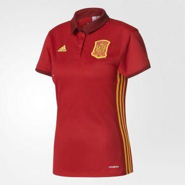 Maglia Spagna femminile 2017 adidas