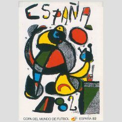 Mirò World Cup Poster