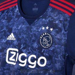 Trama divisa Ajax 2017-18 trasferta blu