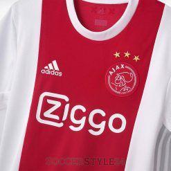 Dettaglio colletto Ajax 2017-2018