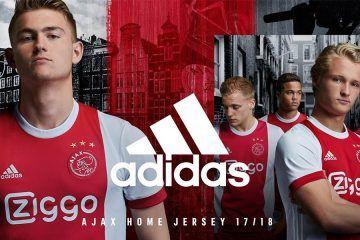 Presentazione maglie Ajax 2017-2018